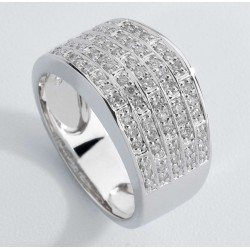 ANILLO DIAMANTES 0,41 KT. ORO 750 MM - 353440