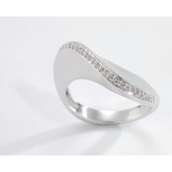 ANILLO DIAMANTES 0,11 KT. ORO 750 MM. - 353471