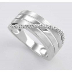 ANILLO DIAMANTES 0,07 KT. ORO 750 MM. - 353478