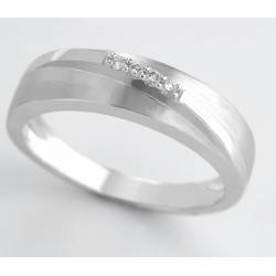 ANILLO DIAMANTES 0,04 KT. ORO 750 mm - 353483