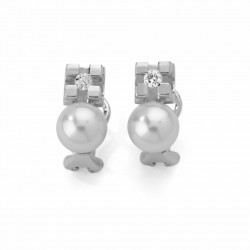 PENDIENTES  DIAMANTES 0,20 KT ORO 750 MM - 242681