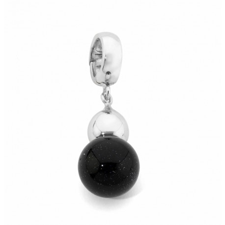 COLGANTE/CHARM ADVENTURINA, PLATA 925 MM - 750054 AD