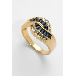 ANILLO DIAMANTES 0,42 KT. ORO 750 MM. - 353203