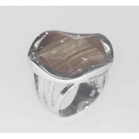 ANILLO RUILATED, PLATA 925 MM. - 790037