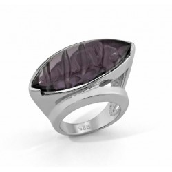 ANILLO AMATISTA, PLATA 925 MM. - 790064 AM