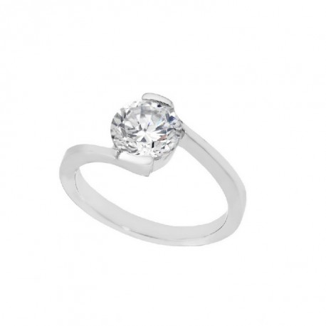 ANILLO ZIRCONITAS PLATA 925 MM. - 790095