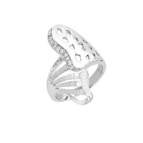 ANILLO ZIRCONITAS PLATA 925 MM. - 790097