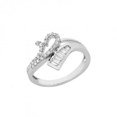 ANILLO ZIRCONITAS PLATA 925 MM. - 790098