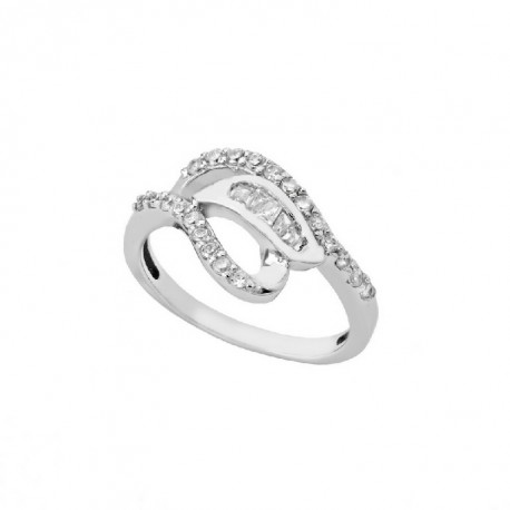 ANILLO ZIRCONITAS PLATA 925 MM. - 790090